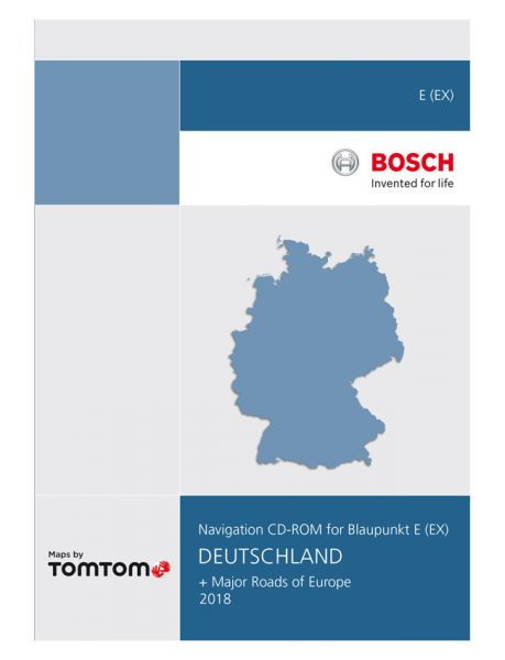 CD-ROM Deutschland TP E 2018 - TomTom - i1031122