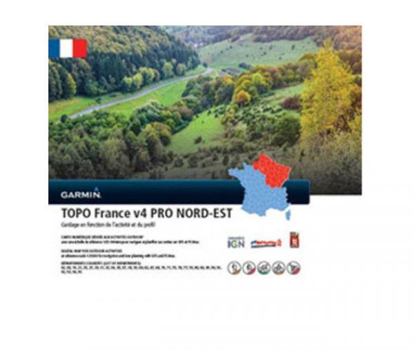 Garmin Topo Frankreich V4 PRO Nord-Ost microSD-Karte - 010-11236-02
