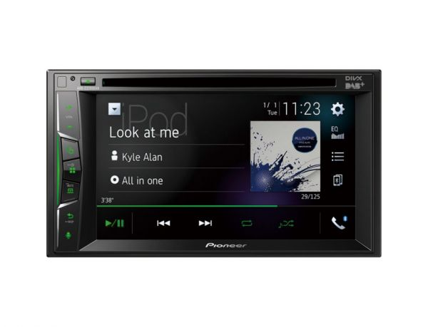 Pioneer AVH-Z3200DAB - Autoradio mit Apple CarPlay, WebLink, DAB+, Bluetooth