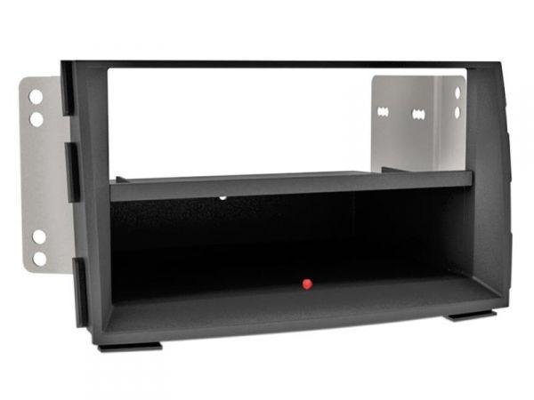 2-DIN RB Inbay® Kia Venga schwarz ab 2009 - Qi-Standard