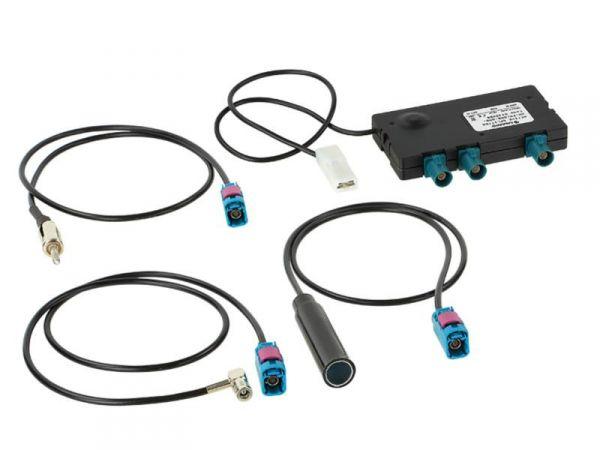 Calearo Aktiver Antennensplitter Radio AM-FM/DAB-DAB+ incl. Adapter - 7562030