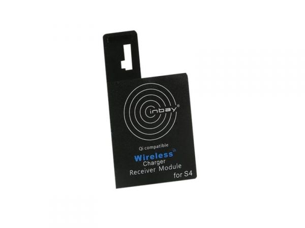 Inbay® Induktiver Qi-Ladeempfänger Samsung Galaxy S4 - Qi-Standard