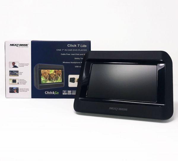 "Nextbase Click 7 Lite, Click&Go - 1 Monitor 7"" inkl. DVD-Player"