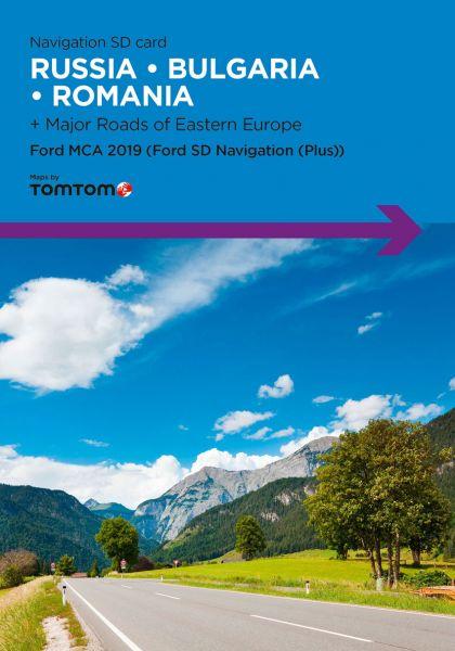SD-Karte Europa EEU Ford MCA 2019 - TomTom - i1031172