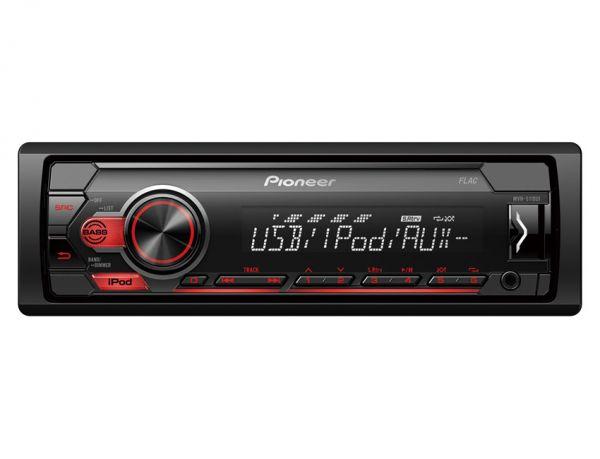 Pioneer MVH-S110UI - Autoradio mit iPod Steuerung (ohne Laufwerk)