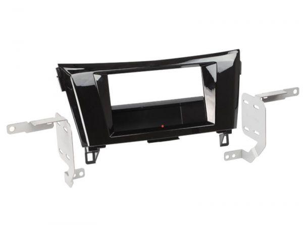 2-DIN RB Inbay® Nissan Qashqai/X-Trail Klavierlack ab 2014 - Qi-Standard