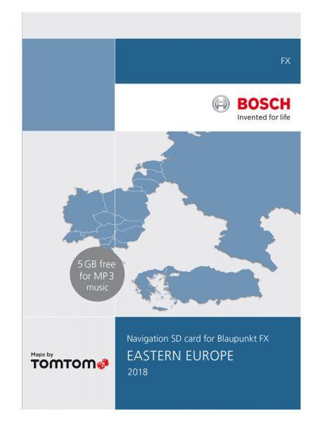 SD-Karte Ost-Europa 8 GB TP FX 2018 - TomTom - i1031133