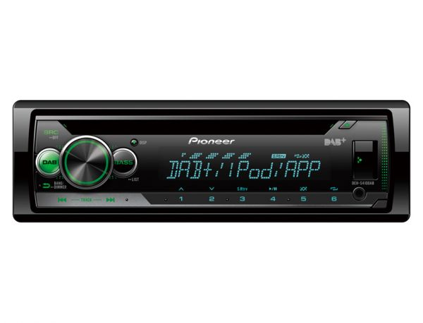 Pioneer DEH-S410DAB - Autoradio mit DAB+, USB, iPod-Steuerung