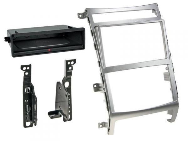 2-DIN RB Inbay® Hyundai ix55 silber ab 2009 - Qi-Standard