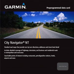 City Navigator NT Datenkarte Europa - Garmin - 010-10680-50