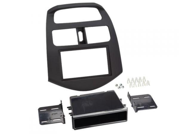 2-DIN Radioblende mit Ablagefach für Chevrolet Spark ab 2012 - ACV - 381087-08