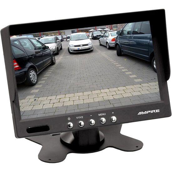 "Ampire RVM072 - 17,8 cm (7"") TFT-Aufbaumonitor 2x Video-In - Klebefuß"