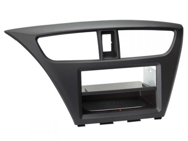 2-DIN RB Inbay® Honda Civic schwarz ab 02/2012 - Qi-Standard
