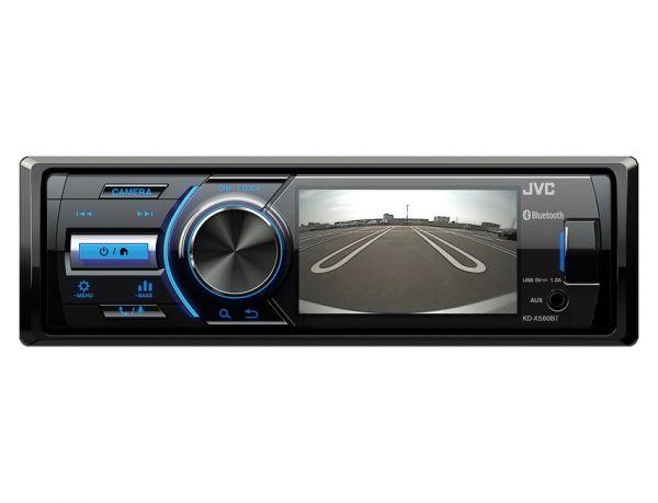 """JVC KD-X560BT - Autoradio mit 3,5"""" TFT für Rückfahrkamera"""