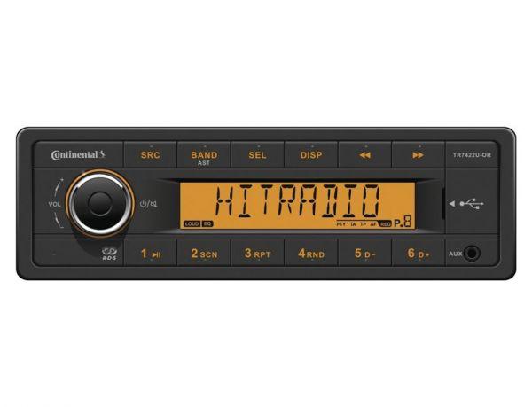Continental TR7422U-OR - 24 Volt Autoradio - laufwerklos