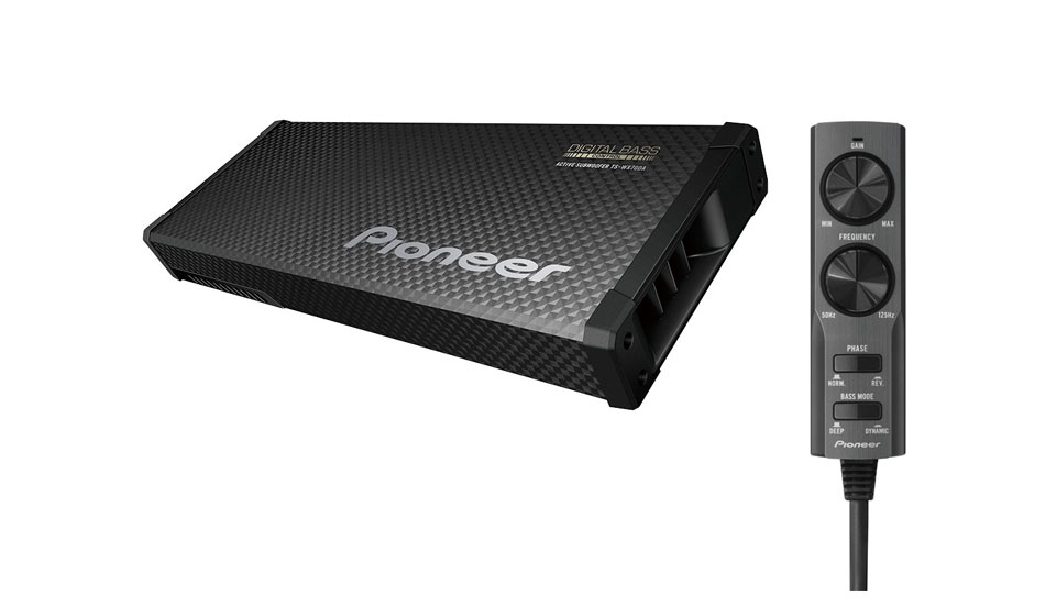 pioneer ts wx70da ultraflacher aktiv subwoofer mit. Black Bedroom Furniture Sets. Home Design Ideas