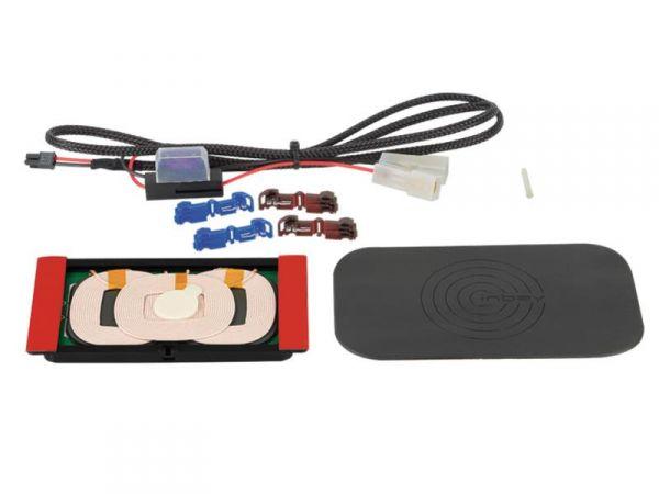 Inbay® Nachrüst-Kit - 3 Spulen mit Pad + LWL - Qi-Standard