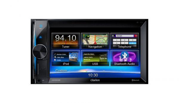 Clarion NX302E - 2-DIN Navigationssystem