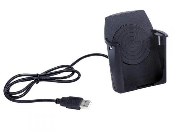 Inbay® Becher Universal Anschluss Bordnetz/USB - Qi-Standard