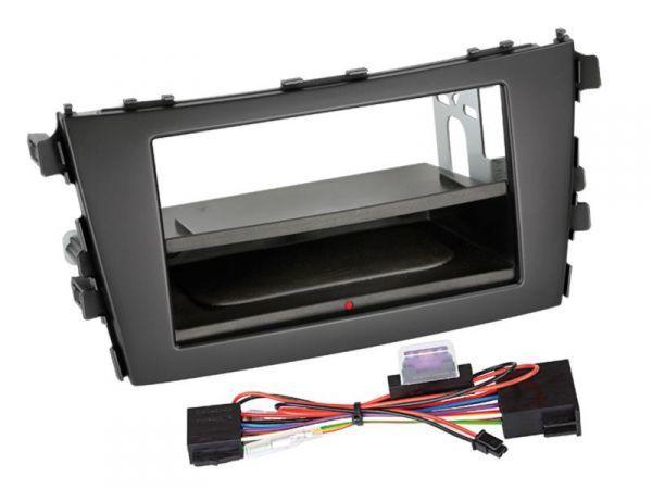 2-DIN RB Inbay® Suzuki Celerio schwarz ab 2014 - Qi-Standard