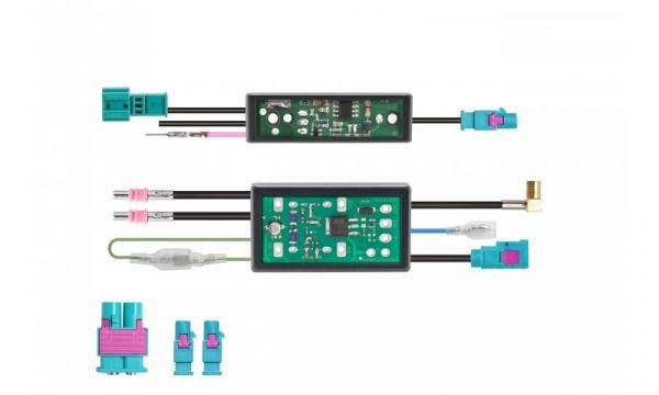DAB+ Verstärker und Signalsplitter - Paket DIN Fakra Diversity