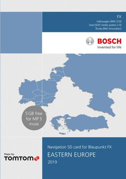 SD-Karte Ost-Europa 8 GB TP FX 2019 - TomTom - i1031166