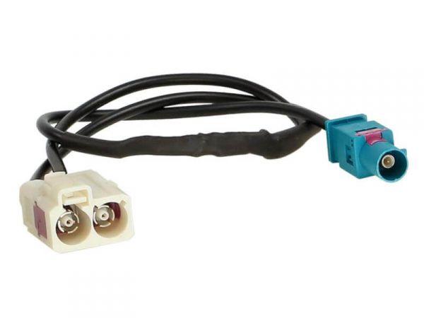 Antennenadapter Fakra (m) -> Doppel Fakra (f)