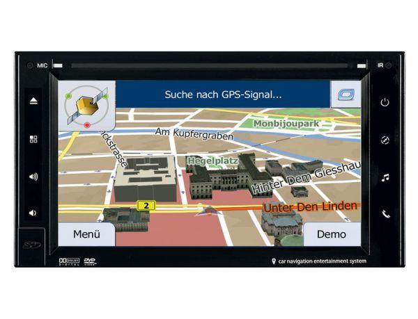 ESX VN630W 2-DIN Navigation mit Bluetooth