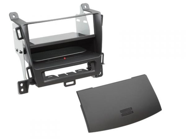 2-DIN RB Inbay® Opel Zafira Tourer jet black ab 2012 - Qi-Standard