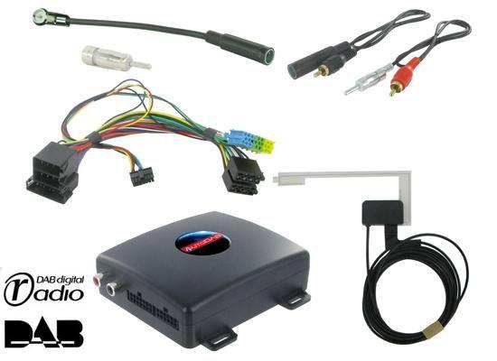 DAB+ Interface für Fiat mit OEM Radioteil (ISO)