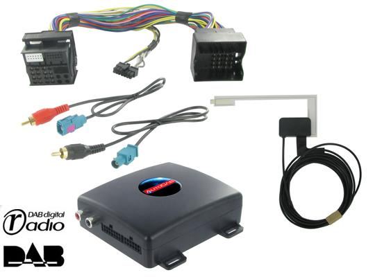 autodab dab interface f r mercedes mit oem radioteil. Black Bedroom Furniture Sets. Home Design Ideas
