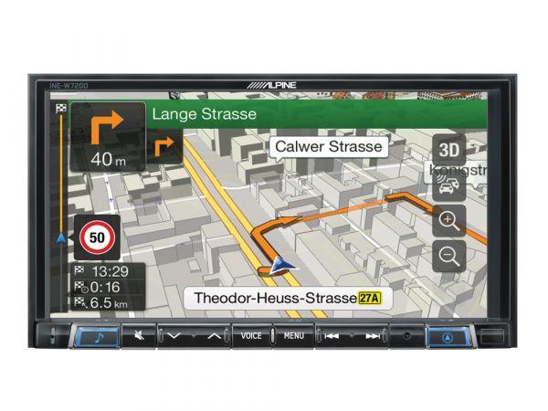 Alpine INE-W720DM - Navigationsystem mit Apple CarPlay und Android-Auto