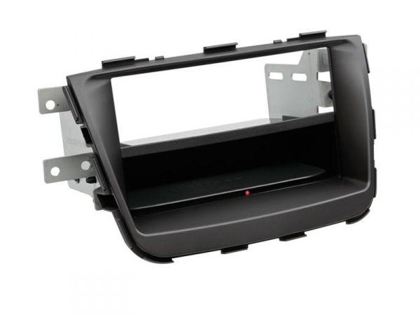 2-DIN RB Inbay® Kia Sorento schwarz ab 2013 - Qi-Standard