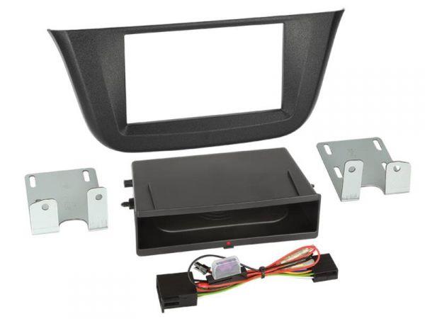 2-DIN RB Inbay® Iveco Daily schwarz ab 2014 - Qi-Standard