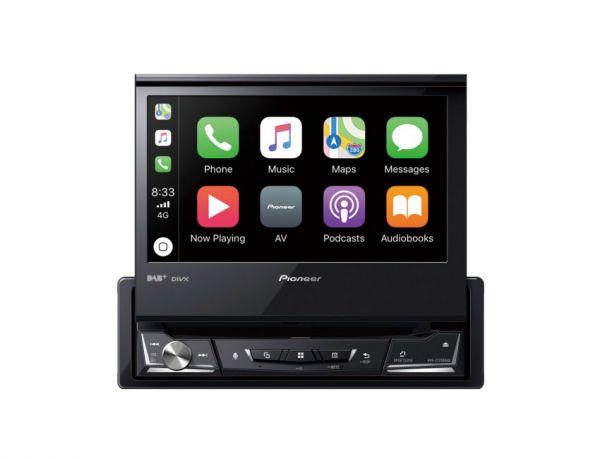 Pioneer AVH-Z7200DAB - Autoradio mit Apple CarPlay, Android Auto, WebLink, DAB+