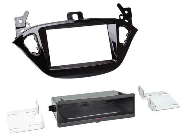 2-DIN RB Inbay® Opel Adam ab 2013 / Corsa (E) Klavierlack ab 2015 - Qi-Standard
