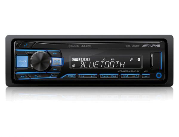 Alpine UTE-200BT - Autoradio mit Bluetooth (ohne CD-Laufwerk)