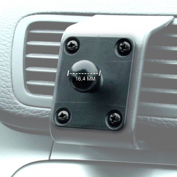 """KRAM Passivhalter 16,4 mm für Garmin 3,5""""-, 4,3""""- und 5""""- Geräte - 60000"""