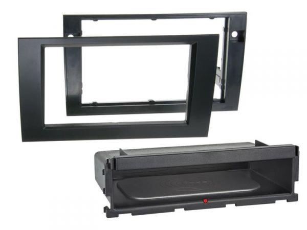 2-DIN RB Inbay® Audi A4 / Seat Exeo schwarz - Qi-Standard