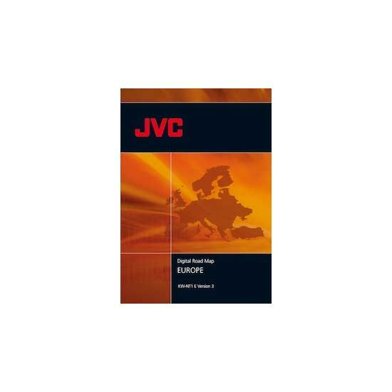 CD-ROM Europa JVC KW-NT1E Vers.2013 - TomTom - i1030615 - Final Update