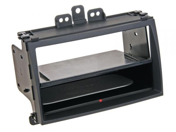 2-DIN RB Inbay® gummiert Hyundai i20 schwarz ab 2009 - Qi-Standard