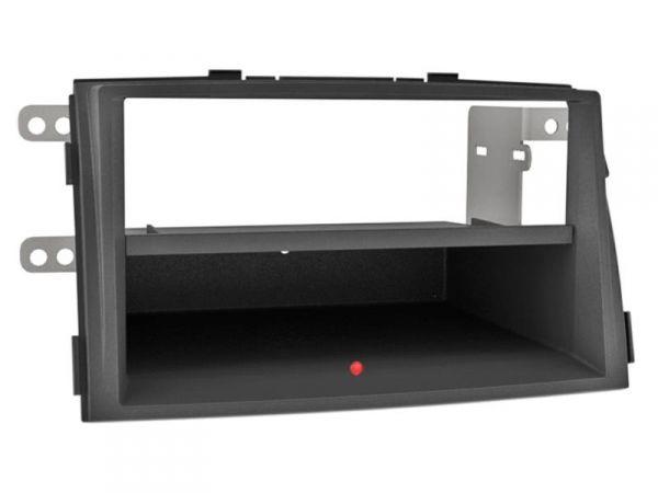 2-DIN RB Inbay® KIA Sorento schwarz ab 2009 - Qi-Standard