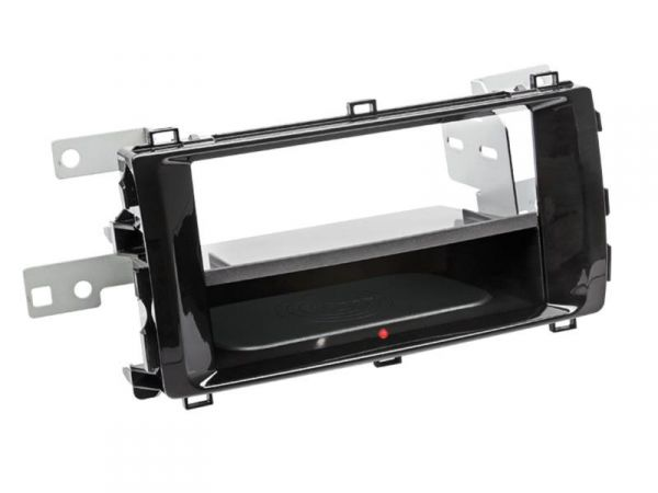 2-DIN RB Inbay® Toyota Auris Klavierlack schwarz ab 2013 - Qi-Standard