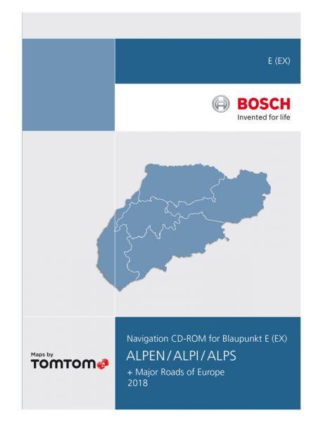 CD-ROM Alpen TP E 2018 - TomTom - i1031058