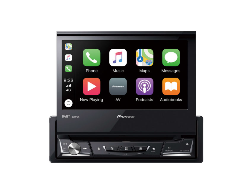 pioneer avh z7200dab autoradio mit apple carplay. Black Bedroom Furniture Sets. Home Design Ideas