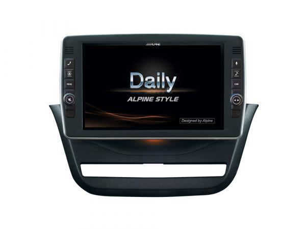 Alpine X903D-ID - 9 Zoll Navigationssystem für IVECO Daily ab 2014