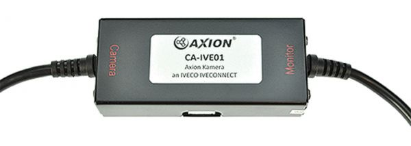 Axion Adapterkabel zum Anschluss einer Axion Kamera an Iveco IVECONNECT Systeme