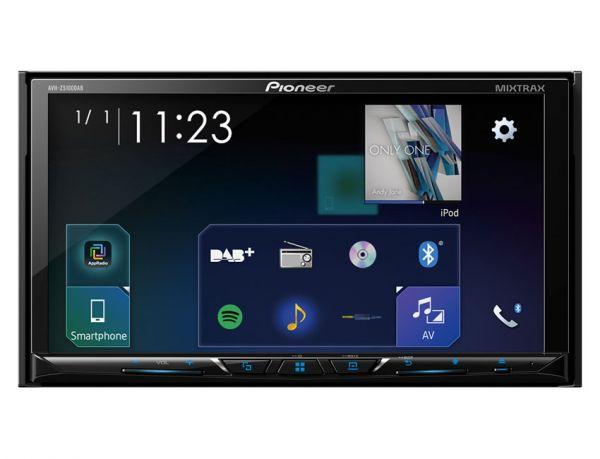 Pioneer AVH-Z5100DAB - 2-DIN Monitor mit DAB+/ Apple CarPlay, Android Auto