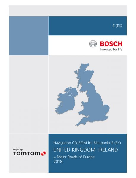 CD-ROM UK/ Irland TP E 2018 - TomTom - i1031129