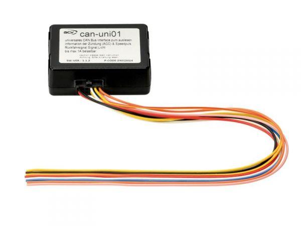 CAN-BUS Adapter Universal (Zündung, Beleuchtung, Rückwärtsgang)